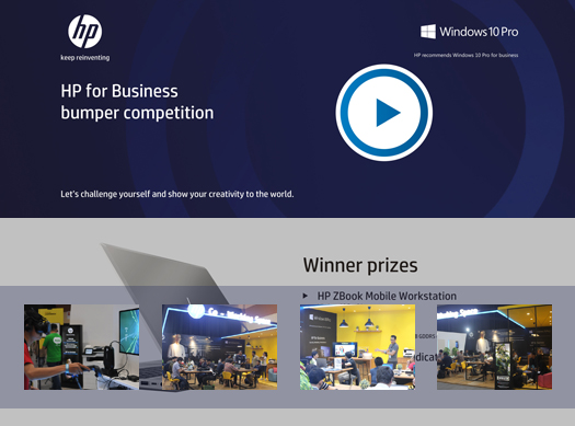 HP for Business – Bumper Competition